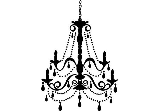 525x366 Unique Black And White Chandelier Chandelier Clip Art Clipartfest