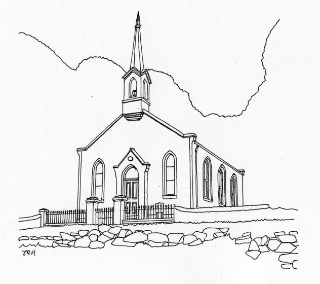 632x560 Colintraive Church