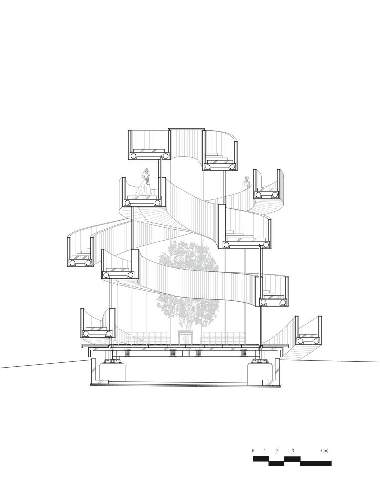 763x997 Gallery Of Ribbon Chapel Hiroshi Nakamura Amp Nap Architects