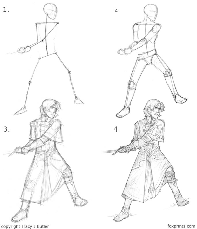 685x793 Ainessa Character Drawing Tutorial