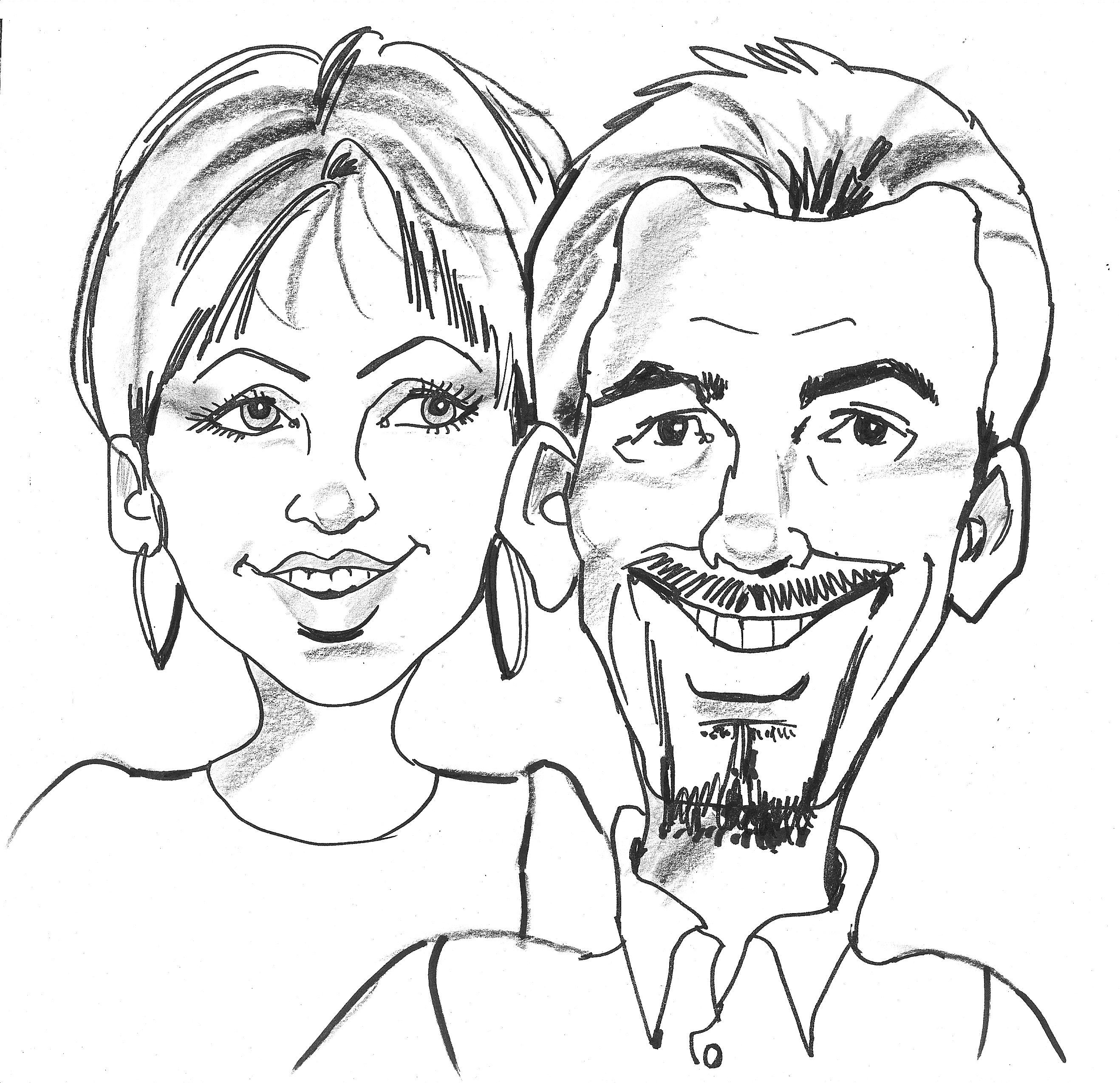 2636x2550 Incredible Amp Creative Caricature Artists Entertainment Alliance