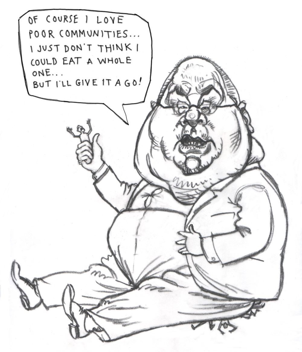 1000x1168 Eric Pickles Caricature Image Sharrock's Blog