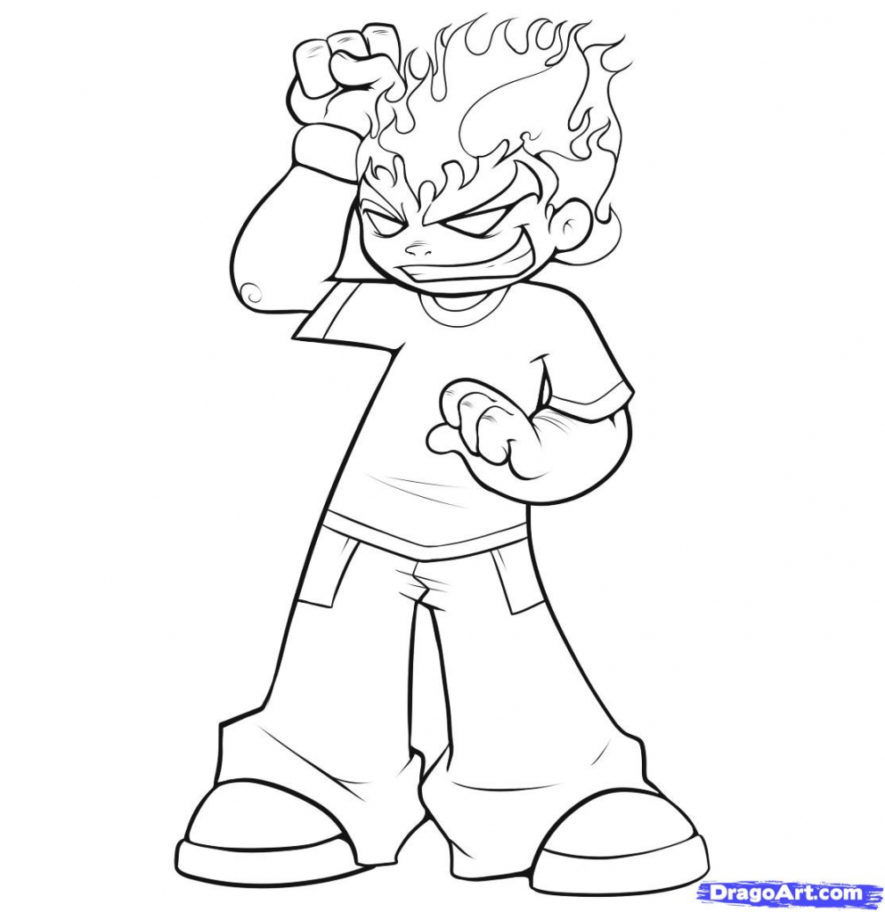 994x1024 Cartoon Characters Drawings How To Draw A Simple Cartoon Step Step