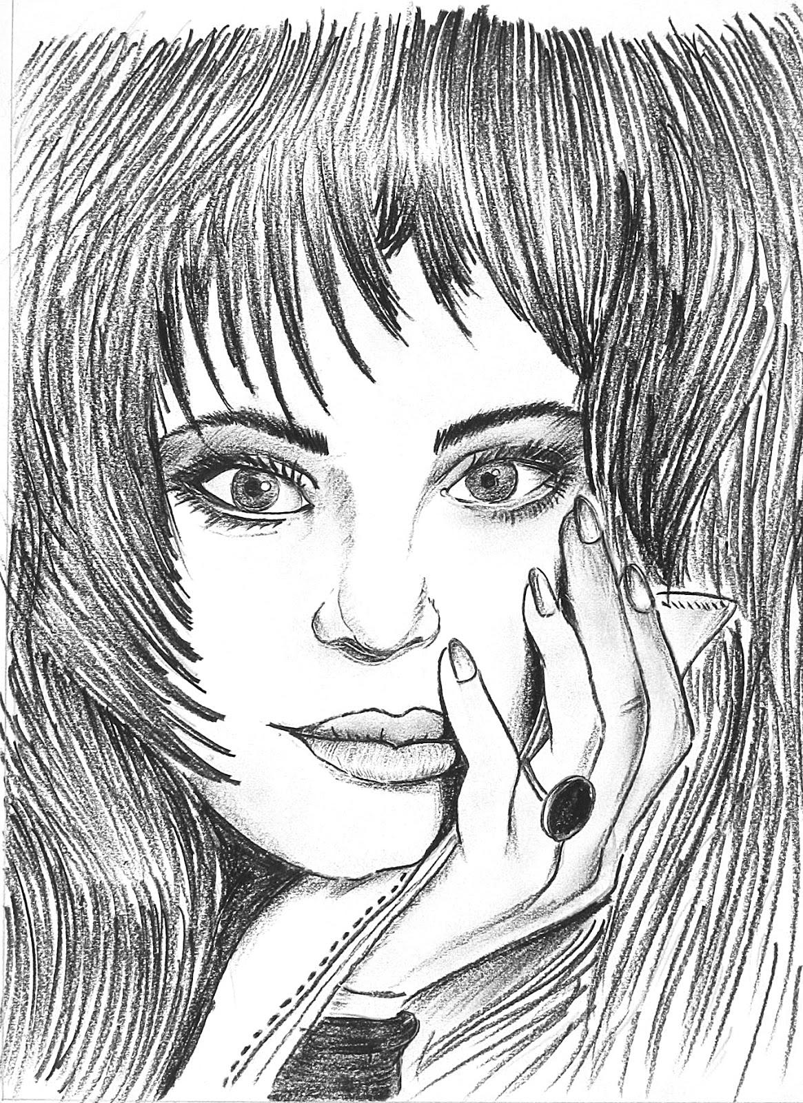 1165x1600 Charcoal Sketching ~ Manan Mapara