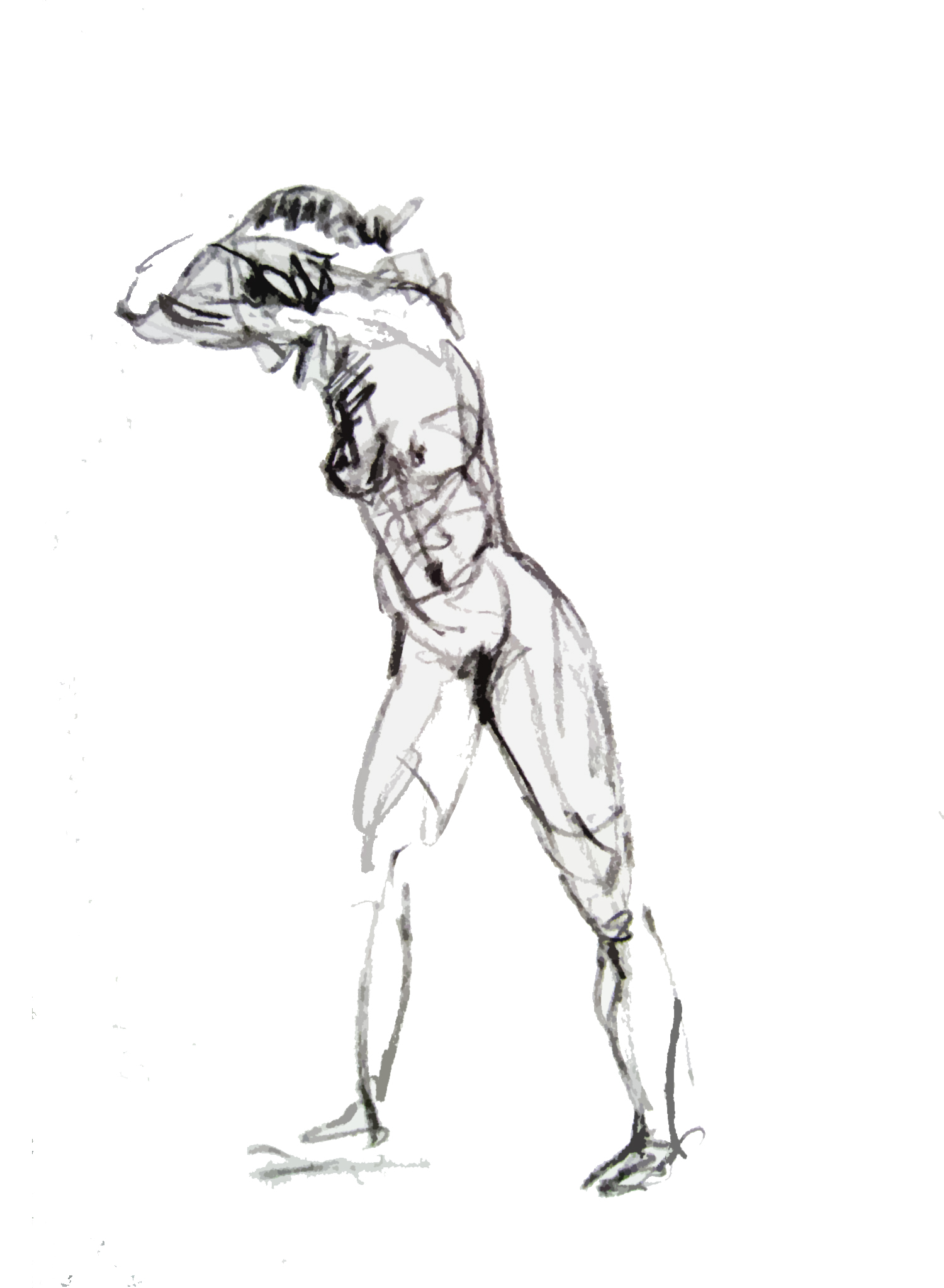 1500x2048 Gesture Drawings In Vine Charcoal The Orchard