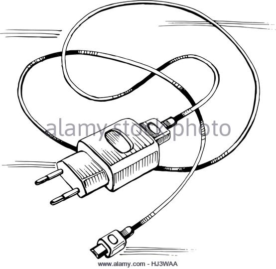The Best Free Charger Drawing Images Download From 313 Free