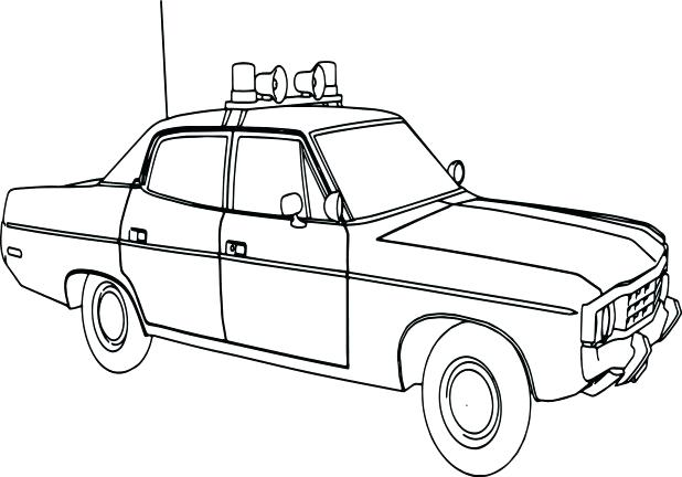 618x432 Dodge Charger Coloring Pages As Matador Sheriff Police Car