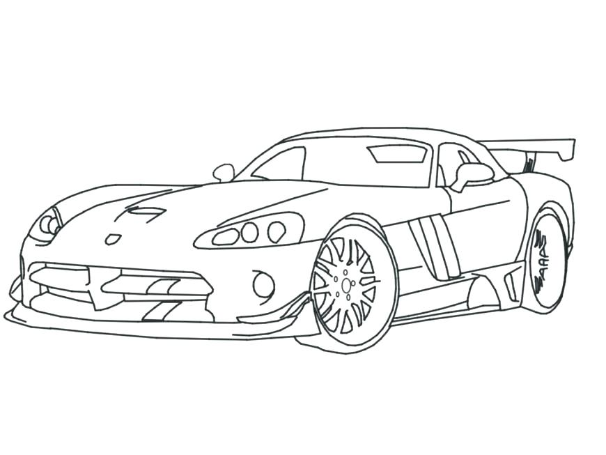 870x653 Dodge Charger Coloring Pages