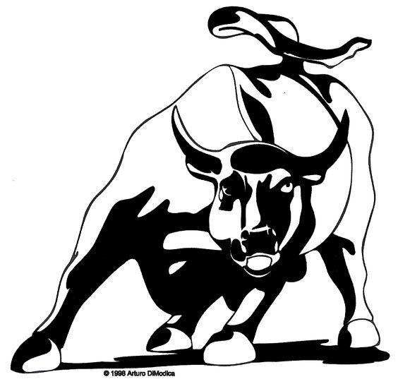 564x544 Charging Bull Art Charging Bull And Paintings