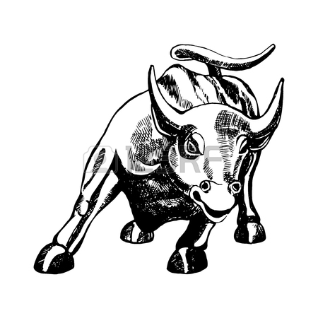 450x450 Charging Bull Stock Photos. Royalty Free Business Images