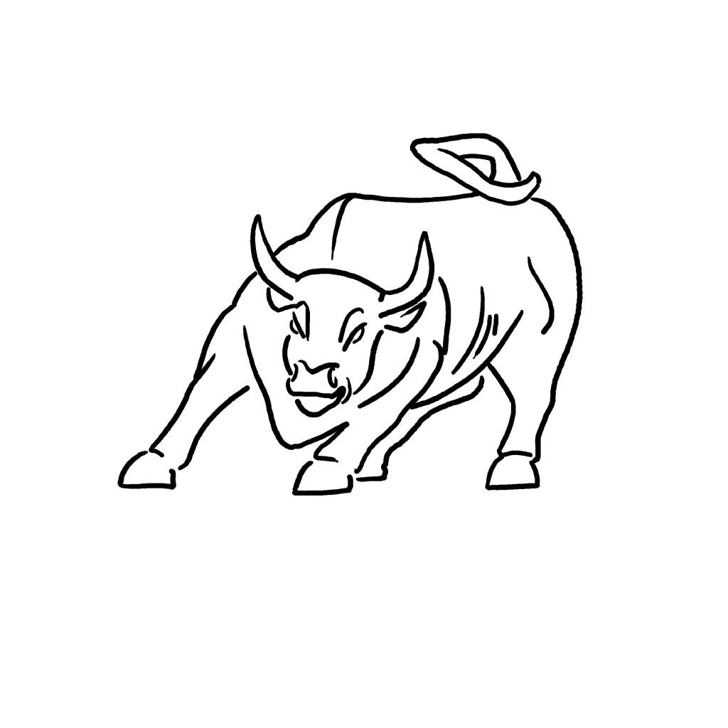 1024x1024 Rotary Wall Street Bull Rotary Club Of Wall Street New York