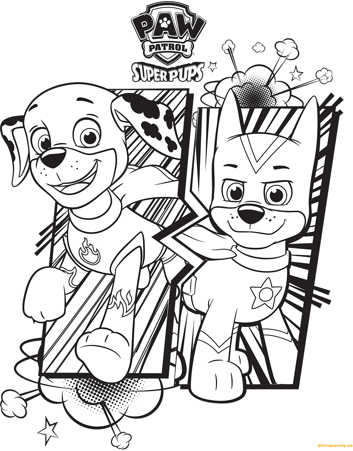 Chase Paw Patrol Drawing At Getdrawings Com Free For Personal Use