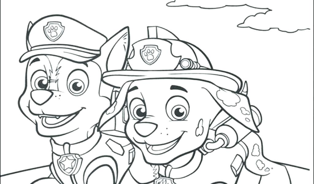 1024x600 Trend Paw Patrol Coloring Pages Free Crayola Photo Printable Chase