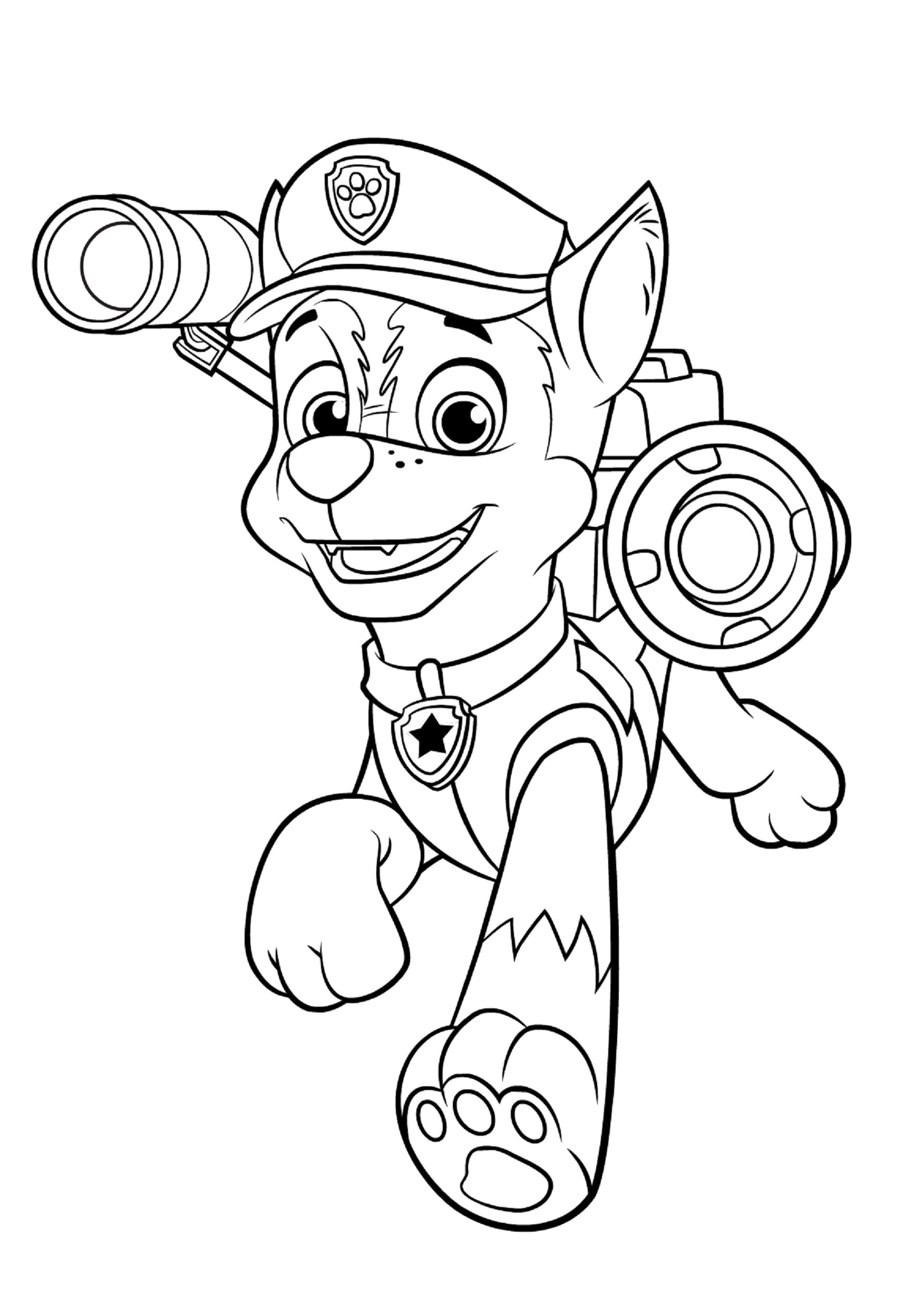 Paw Patrol Ausmalbilder Marshall : Chase Paw Patrol Drawing At Getdrawings Com Free For Personal Use