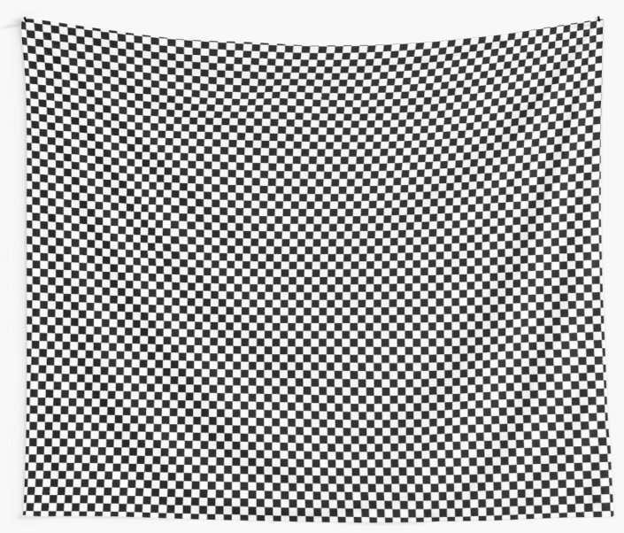 705x602 Check Pattern. Checkered Pattern. Black And White Check Pattern