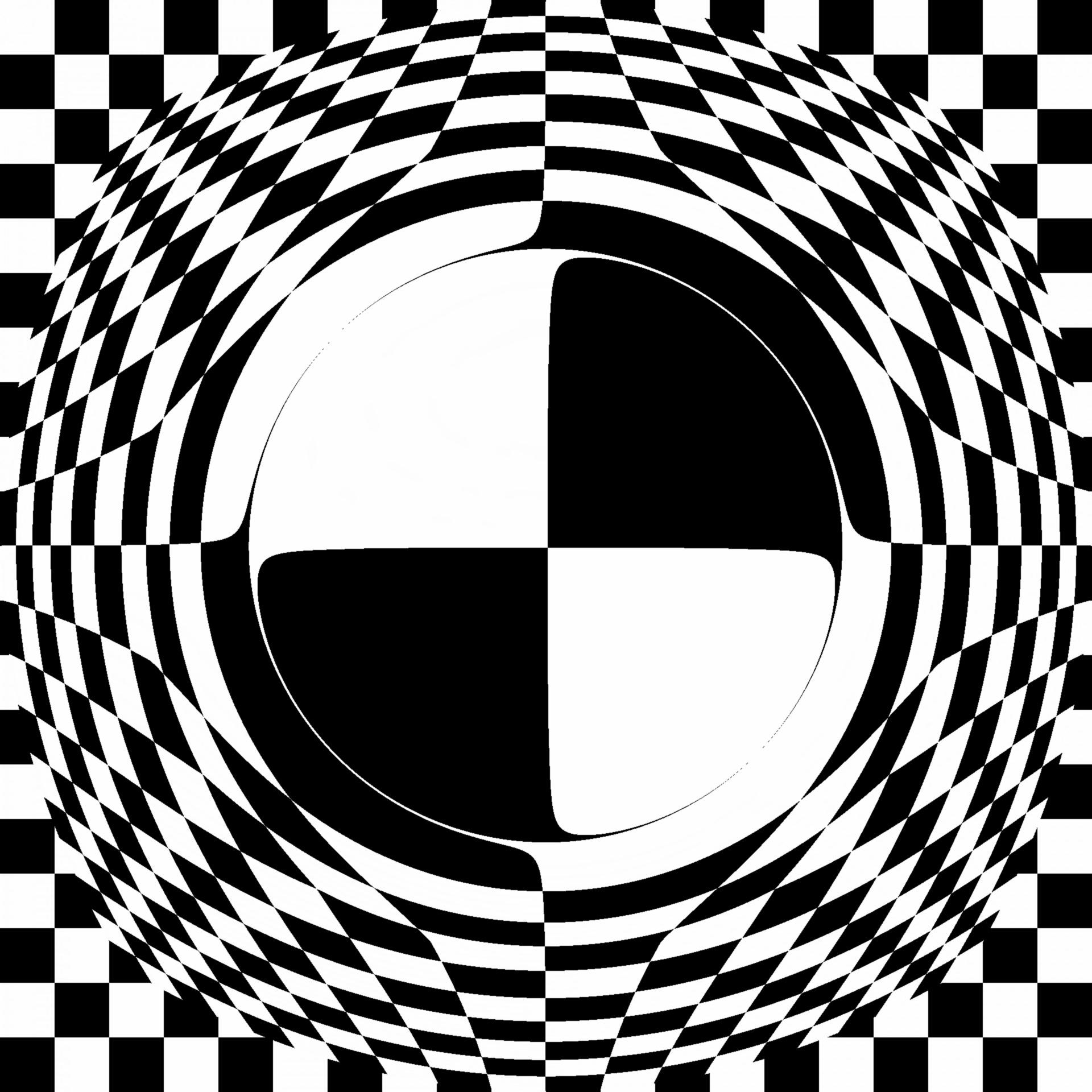 1920x1920 Circle Checkerboard 2 Free Stock Photo