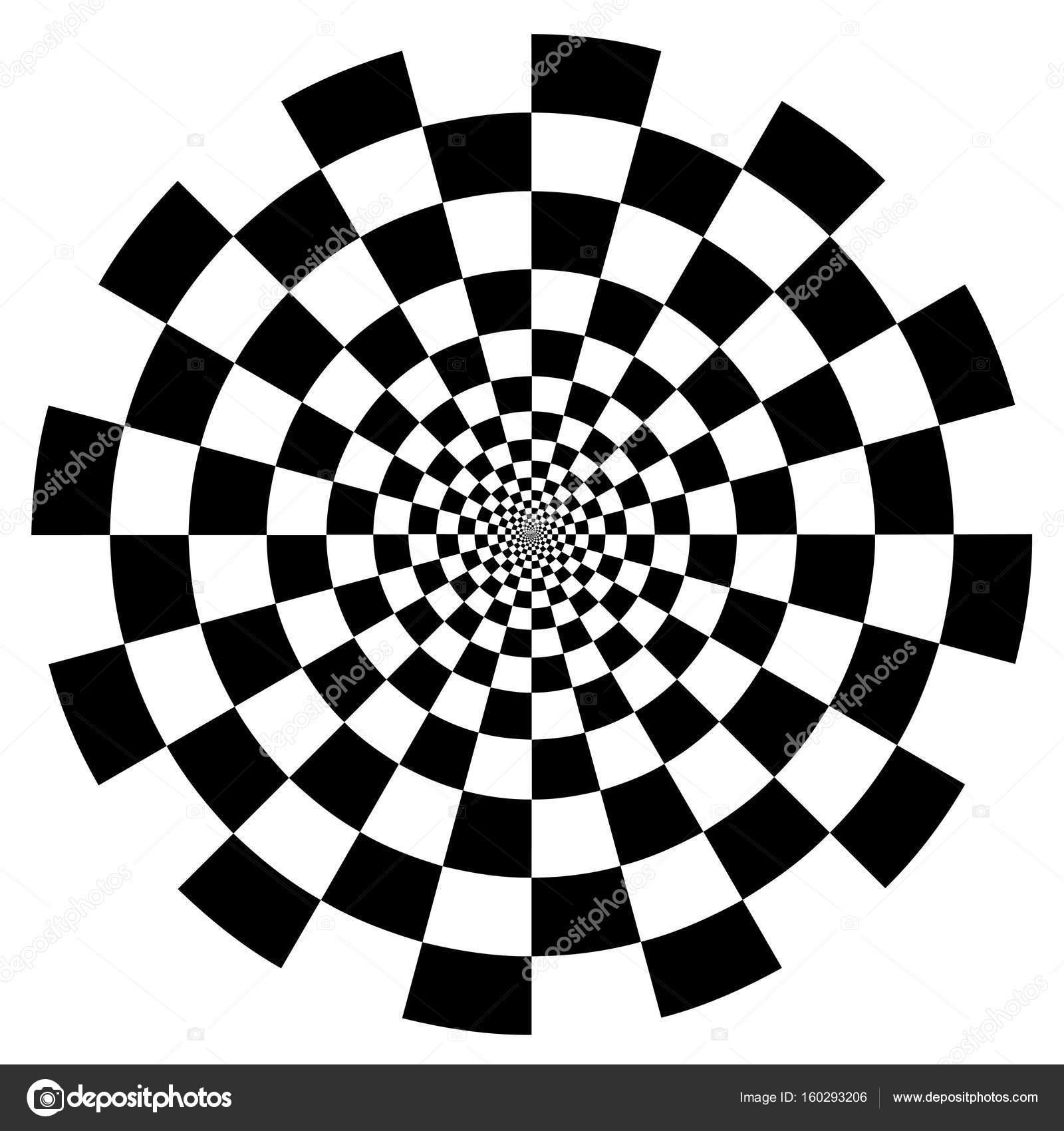 1600x1700 Spiral Design Patterns, Checkerboard Stock Vector Casejustin
