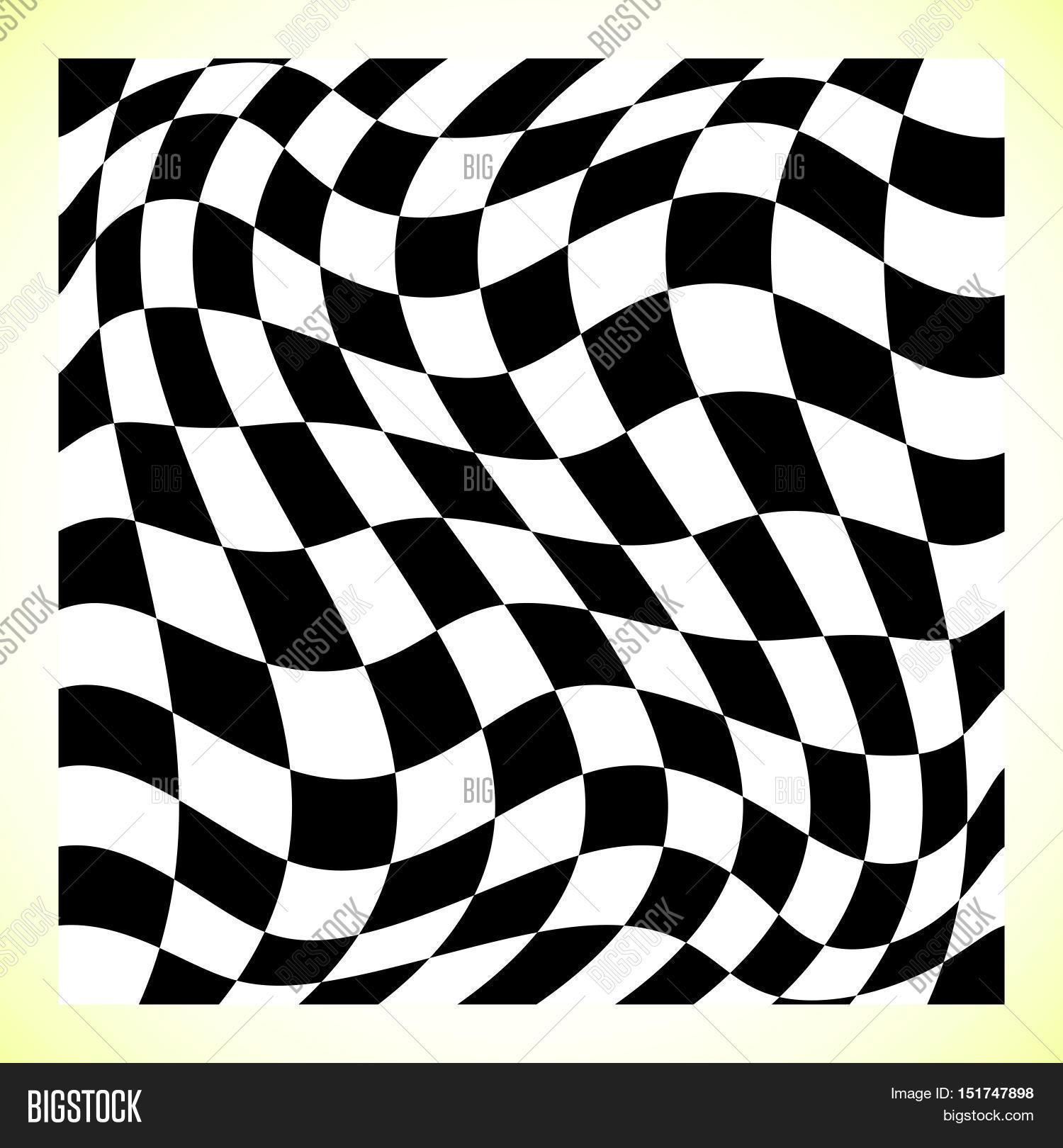 1500x1620 Checkered Pattern (Chess Board, Vector Amp Photo Bigstock