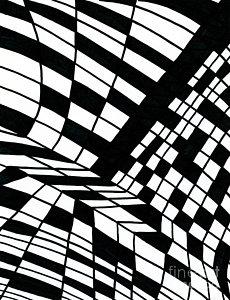 230x300 Checkered Pattern Drawings Fine Art America