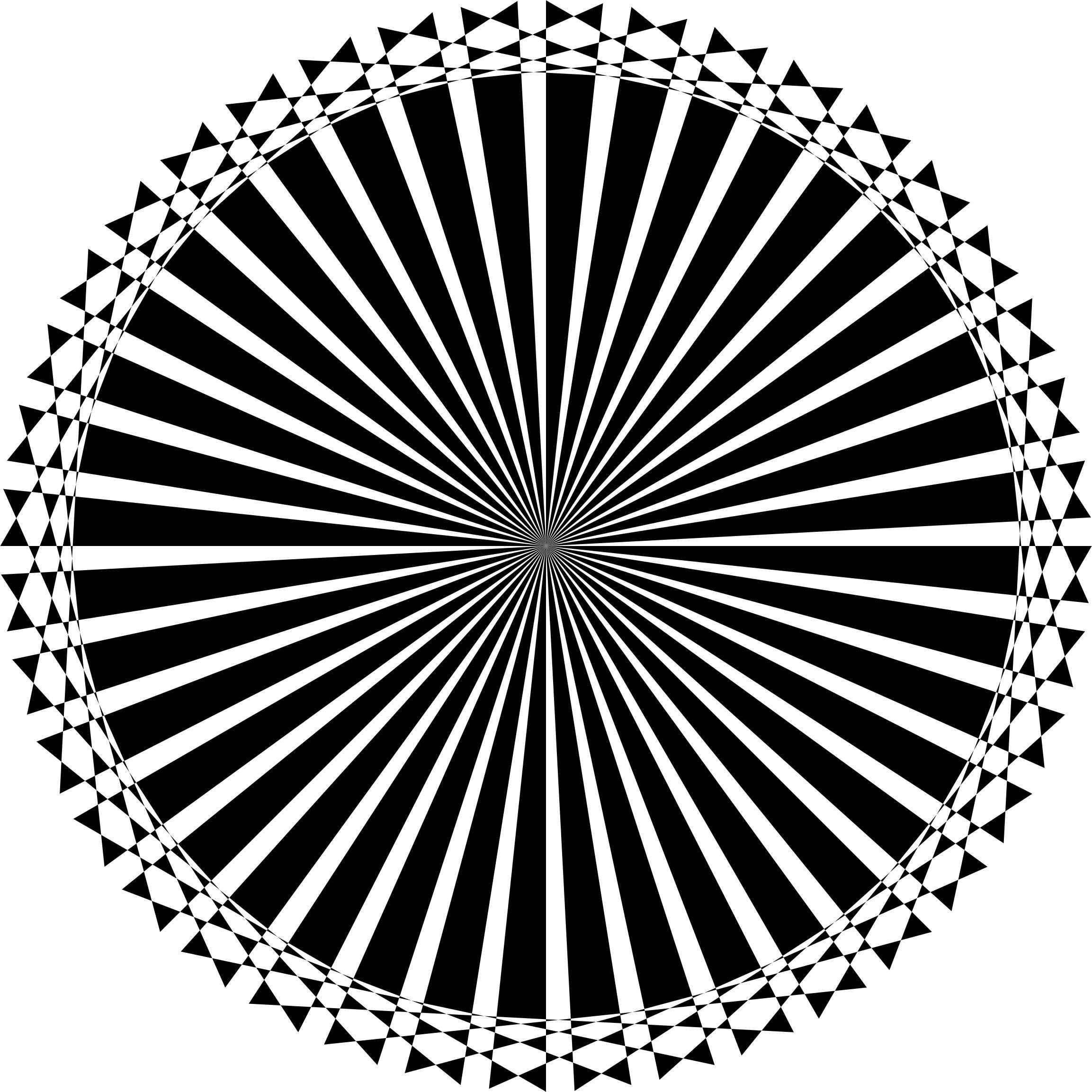 2306x2306 Checkered Sunburst Mandala Icons Png