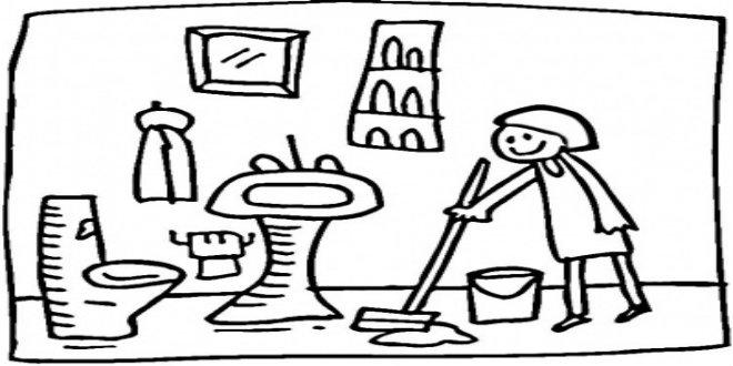 660x330 Bathroom Cleaning Checklist