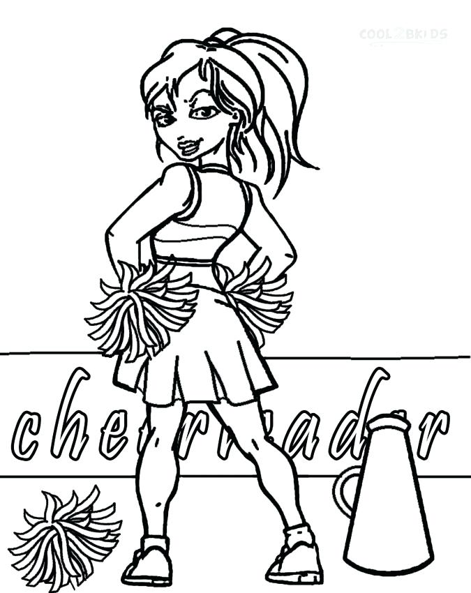 675x850 Cheer Coloring Pages Cheerleader Coloring Page Cheer Coloring