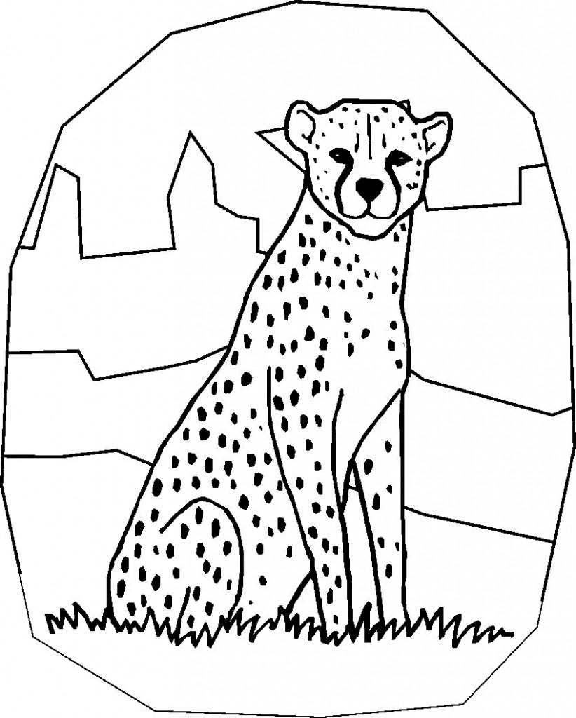 Cheetah Drawing Kids at GetDrawings.com   Free for personal use ...