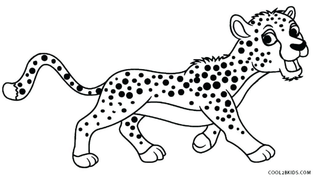 Cheetah Drawing Kids at GetDrawings | Free download