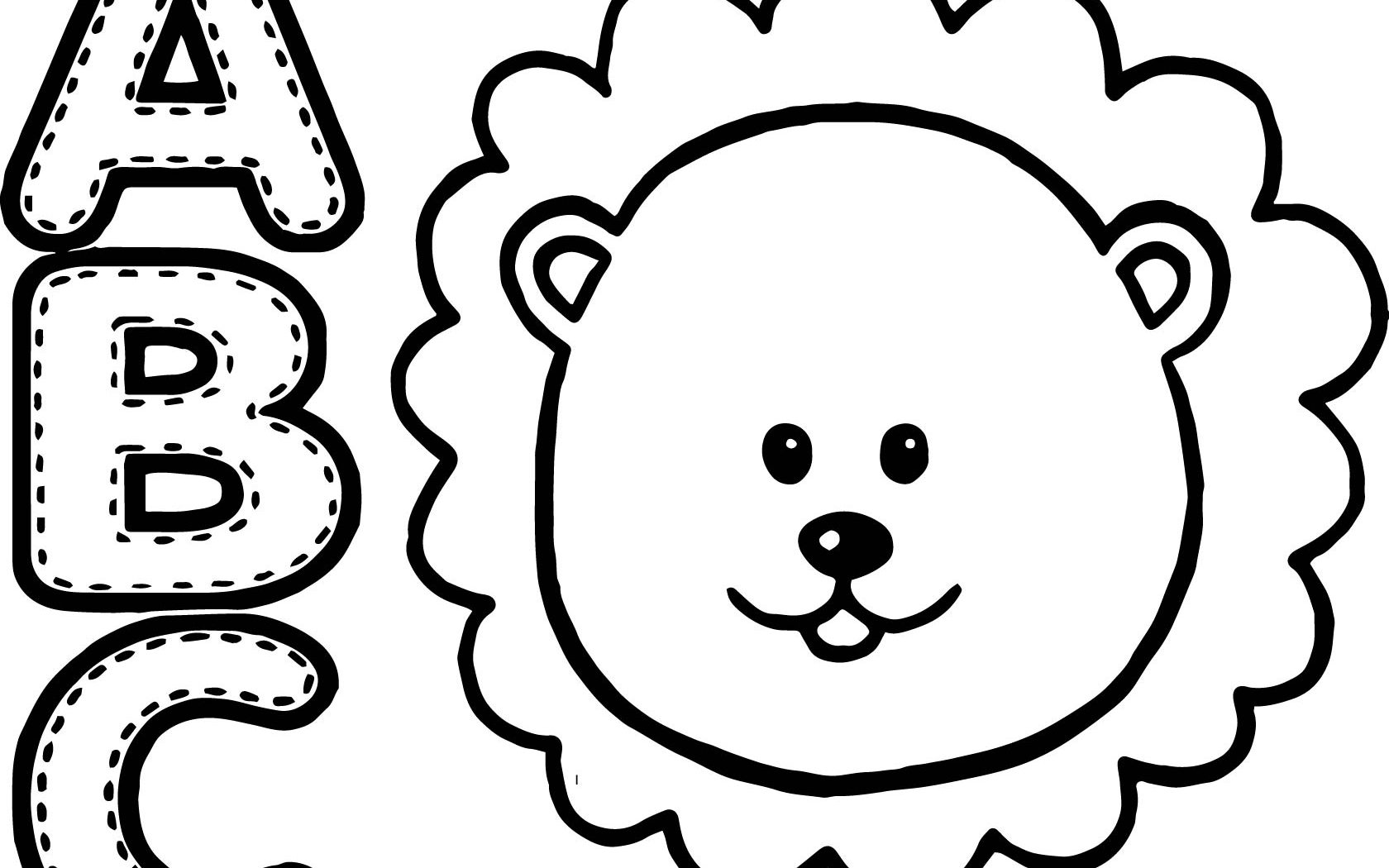 1680x1050 Chimpanzee Clipart Animal Faces To Print Free Printable Coloring