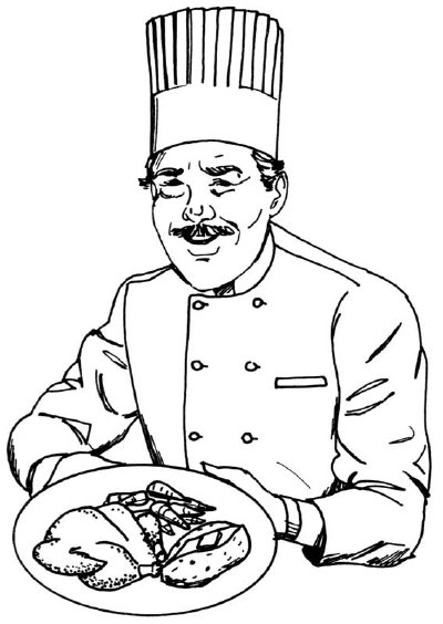 400x564 How To Draw A Chef In 5 Steps Howstuffworks