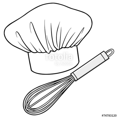 500x500 Chef Hat And Whisk Stock Image And Royalty Free Vector Files
