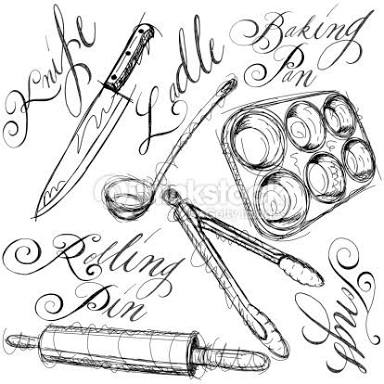 384x384 Resultado De Imagem Para Chef Knife Tattoo Tatuajes