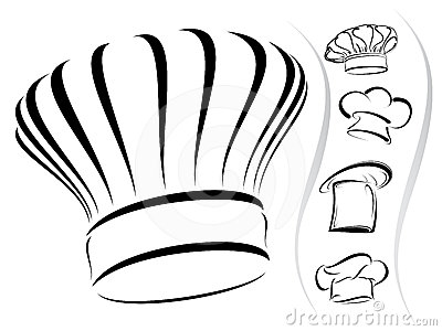 400x300 Chef Hat Silhouettes