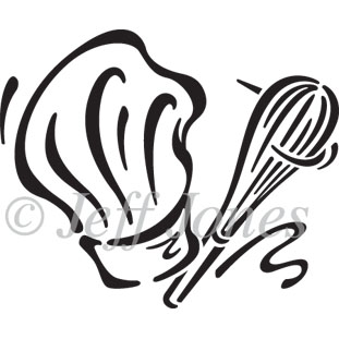 311x311 Icons Chef's Hat And Whisk Vector Icon Illustration