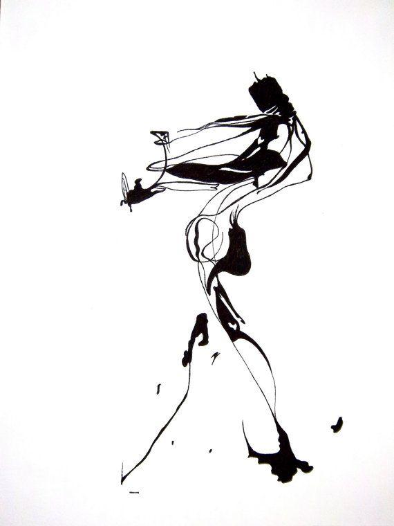 570x760 Reserved 2 Ink Splatter Original Drawings 20 X By Calebadamsart