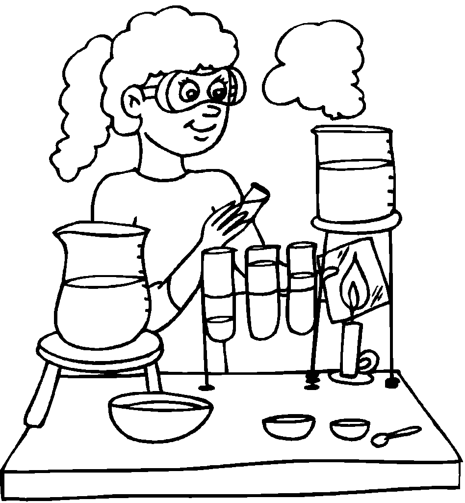 948x1024 Chemical Engineering Coloring Page