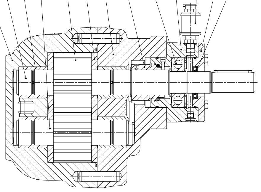 881x651 Chemical Pump Gear For Abrasive Fluids Transfer