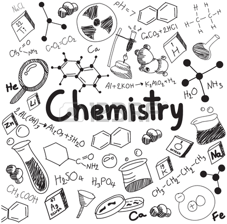 450x444 Chemistry Science Theory And Bonding Formula Equation, Doodle