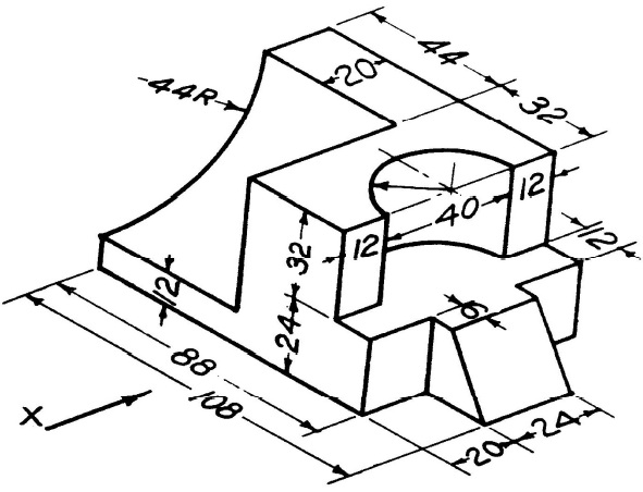 591x452 Engineering Drawing And Graphics