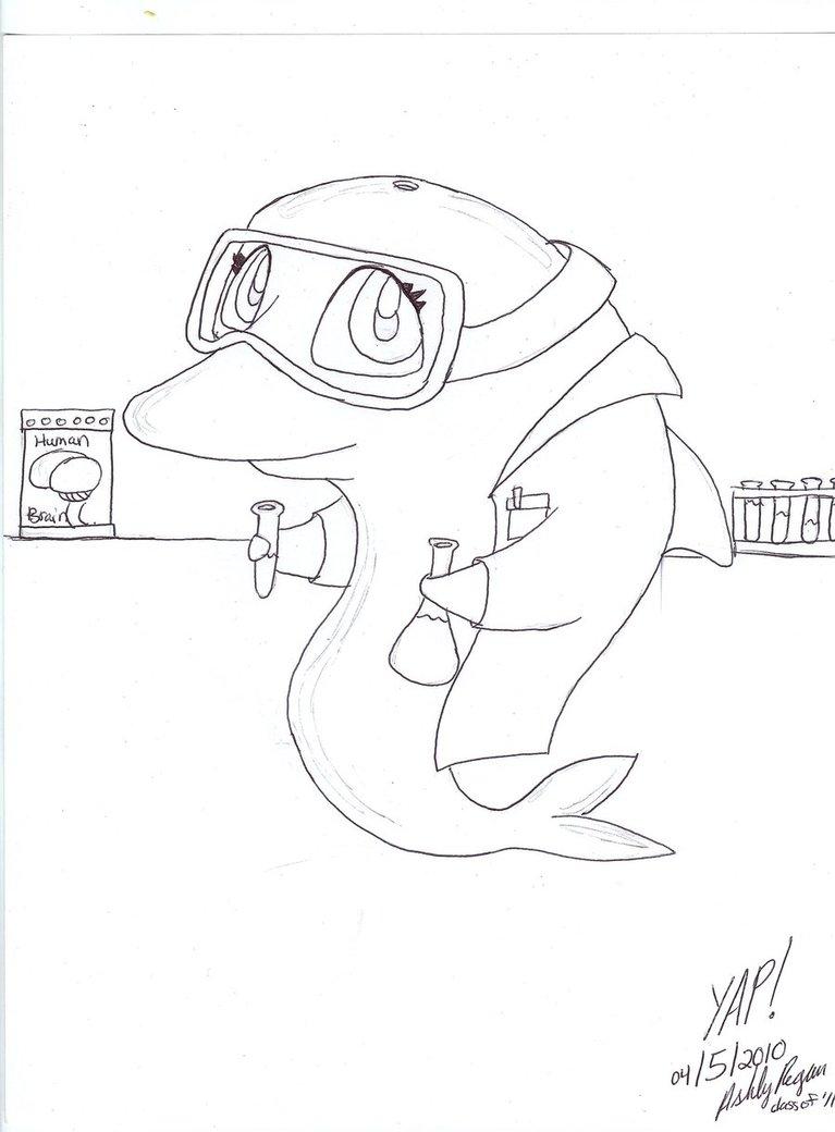 767x1040 Chemist Dolphin Doodle By Yumeaipawpad