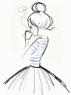 236x317 Flower Dress Dreamer Is A Stunning Illustrated Art Print For Girls