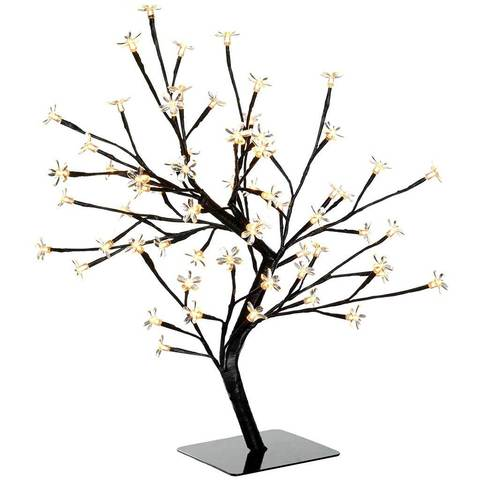 480x480 64 Led Lights Illuminated Cherry Blossom Tree Christmas Decoration