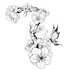 218x231 Cherry Blossom Tattoo 2 By ~dreamhater On Textile