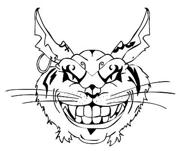 370x311 Cheshire Cat Coloring Pages. Simple New Top Hat In In Planning