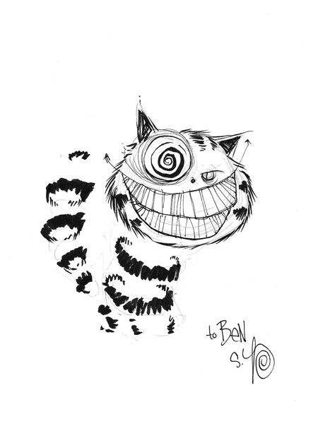 450x600 Cheshire Cat By Skottie Young, In Ben Lupp's Various Comic Art