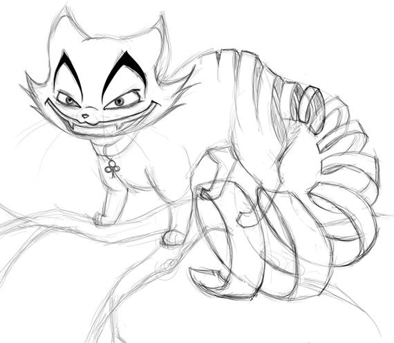 570x496 Lackadaisy Cheshire Cat By K10sbride