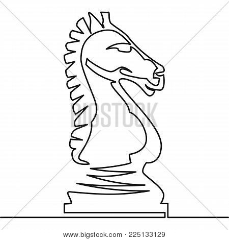 450x470 Chess Knight Vector Continuous Vector Amp Photo Bigstock