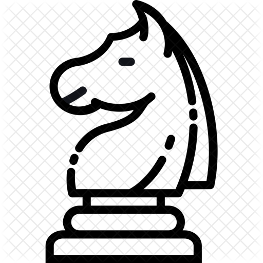 512x512 Games, Battle, Checkmate, Chess, Knight, Horse, Figure Icon