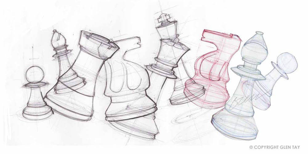 1000x500 Industrial Design In Victoria Australia Sketching Chess