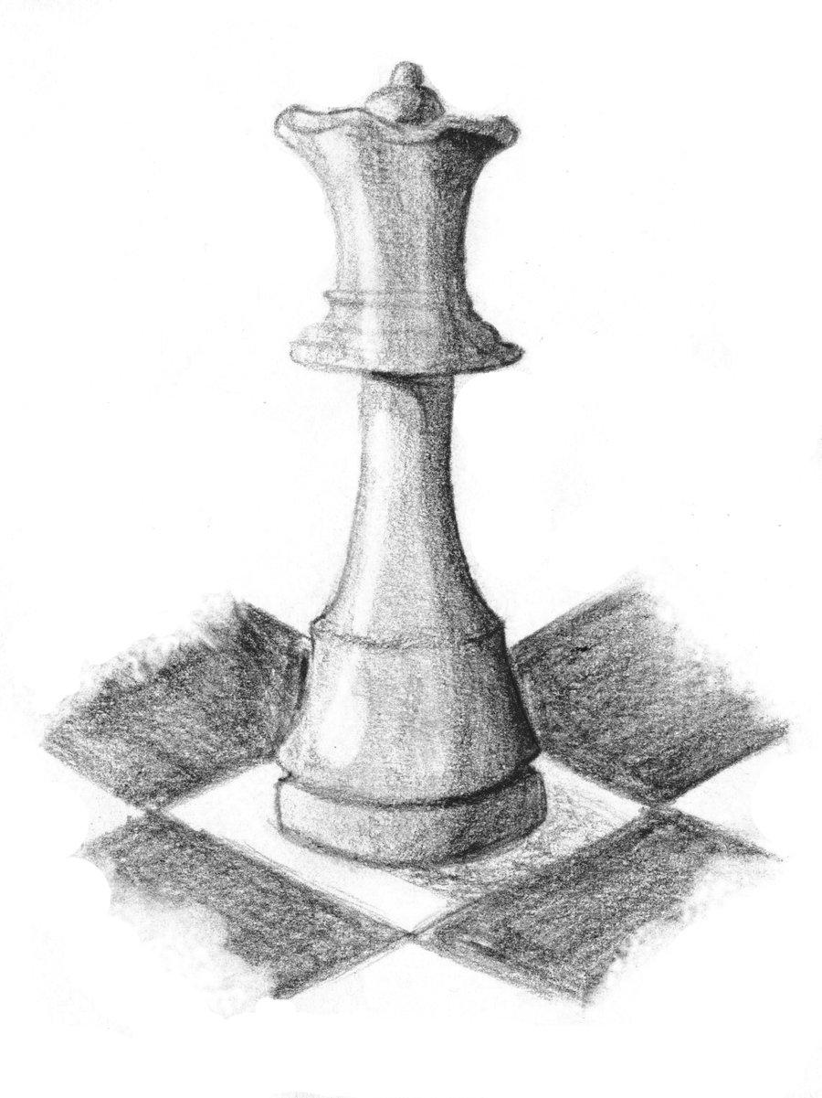 900x1201 Chess Queen Practice By Alyca87